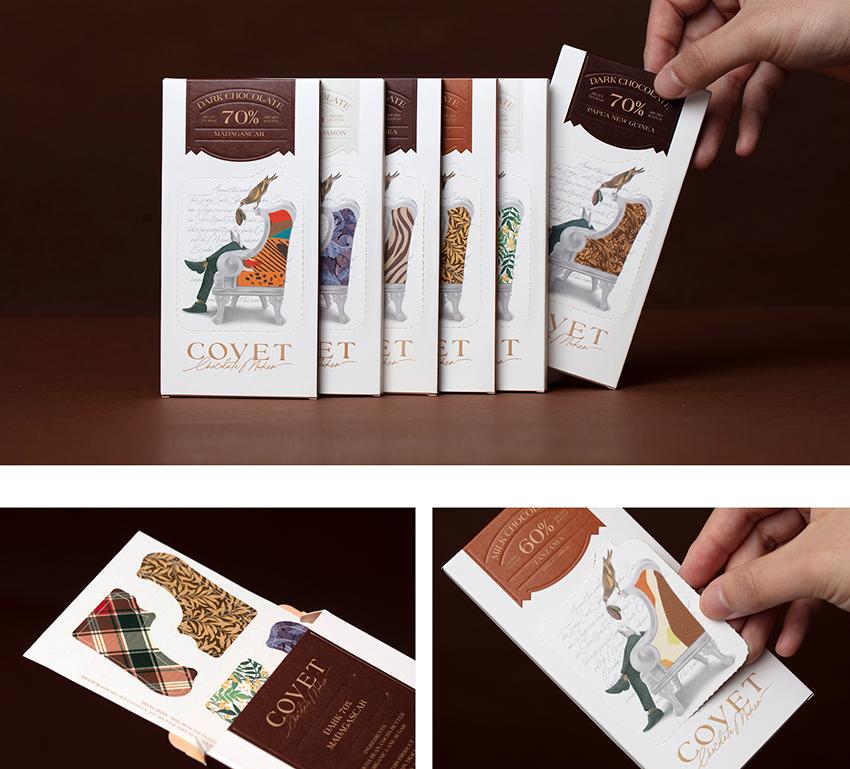 packaging original chocolat