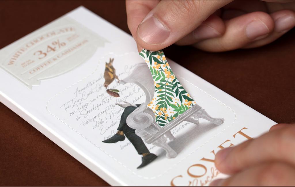 packaging chocolat original et durable
