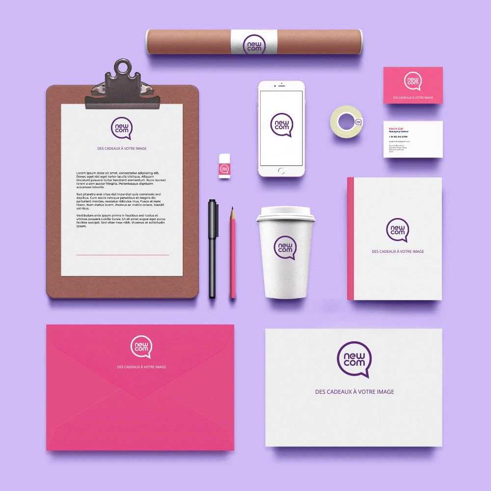 Welcome Pack personnalisé pour cadeau d'affaires original