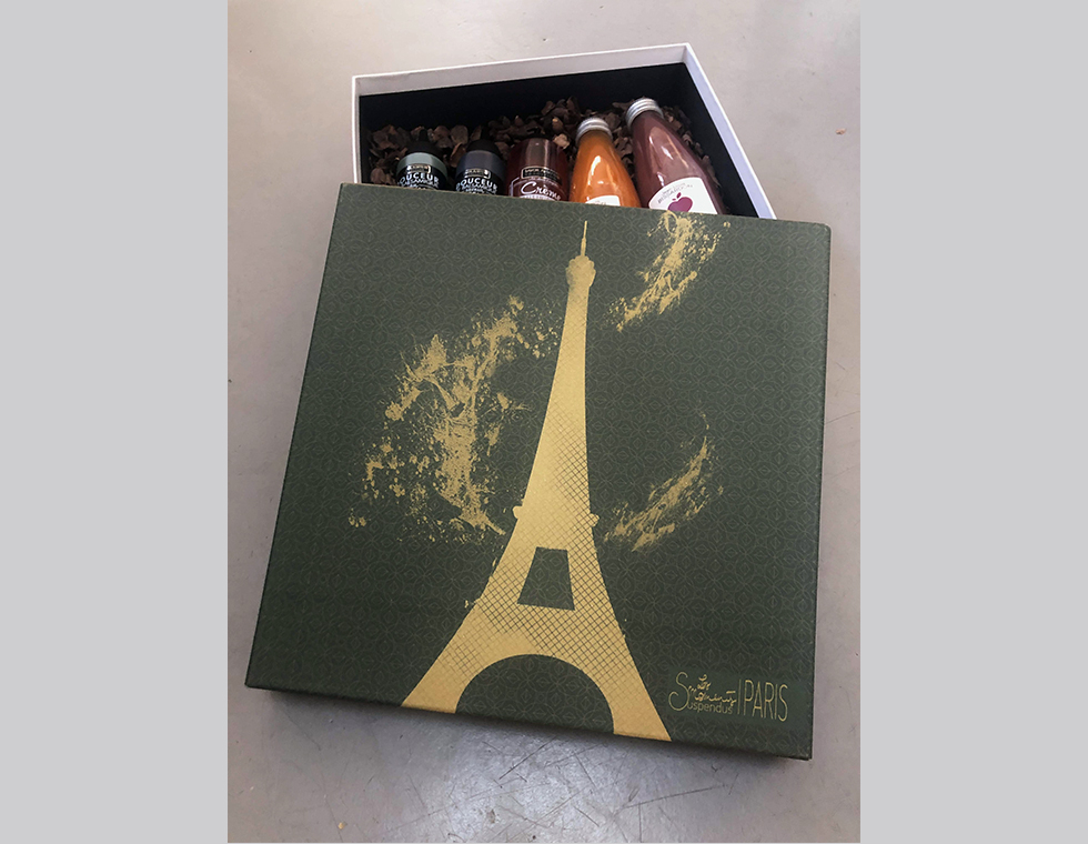 collection packaging luxe les moments suspendus